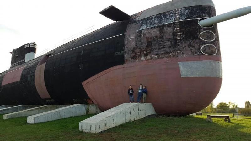 Как самая большая дизельная подлодка ВМФ России оказалась посреди степи в Тольятти б307, вмф, музей, подлодка, тольятти