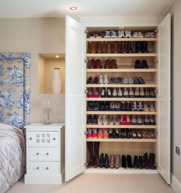 Фотография: Спальня в стиле , Гардеробная, Советы, Анна Русскина – фото на InMyRoom.ru