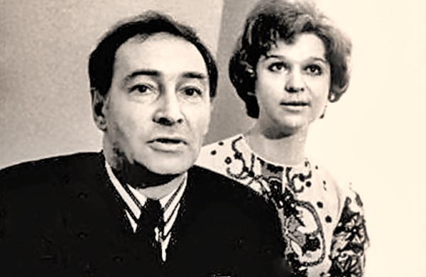 Вячеслав Тихонов и вторая жена Тамара
