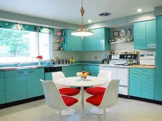 Фото кухни в разных цветах
