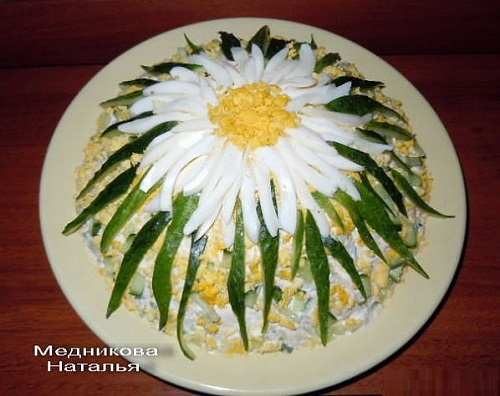 рецепты салатов и закусок из яиц и