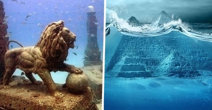 Невероятные и поразительные подводные города