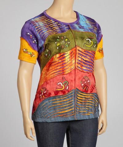 "Одежда в технике пэчворк с элементами вышивки, аппликации и пр. от ""We Love"""