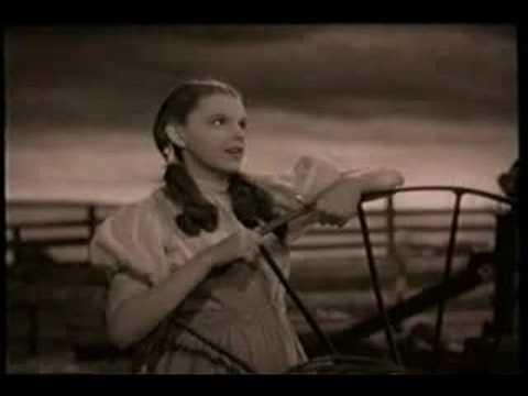 """""""Над радугой""""- Волшебник страны Оз (1939)"""