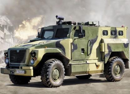 Армейский спецназ оседлает боевых «Медведей»