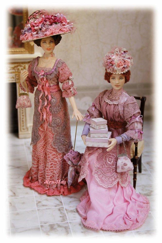 Красиво! Куклы от ELISA FENOGLIO