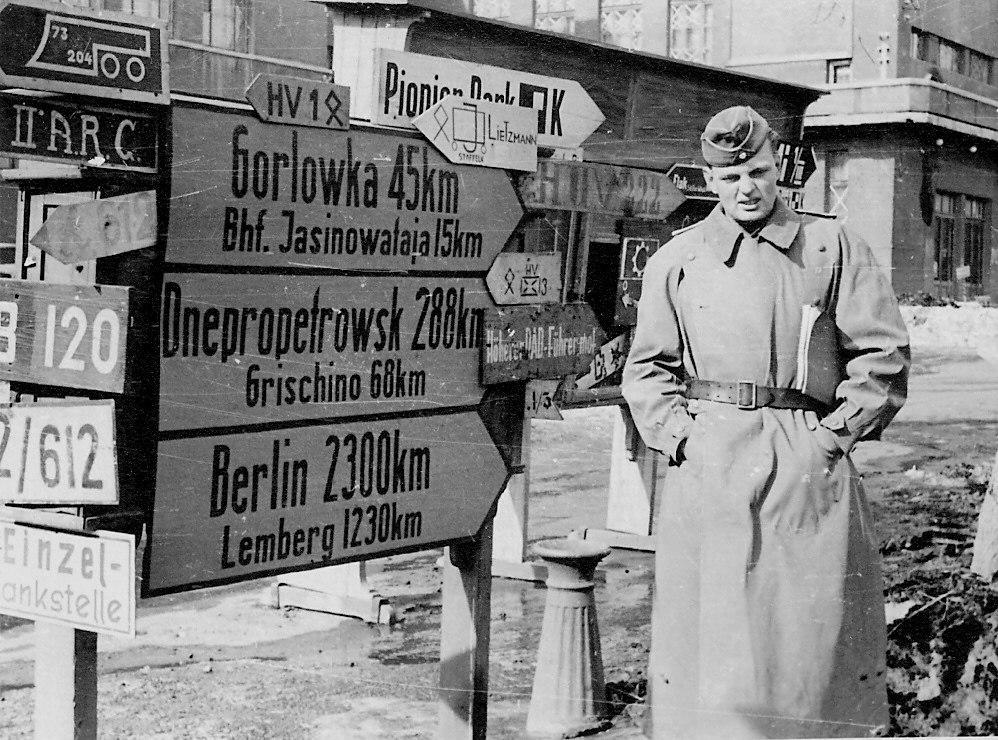 Сталино (Донецк) в годы немецкой оккупации. 1941-1943.