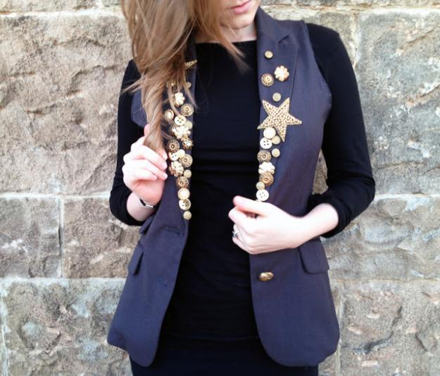 Простой пиджак своими руками 29