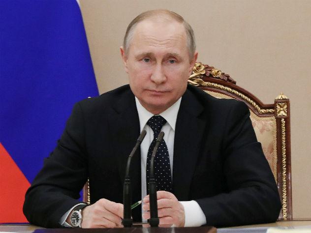 Путин опубликовал предвыборное обращение к россиянам