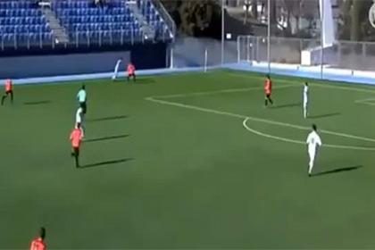 Сын Зидана с помощью «радуги» обыграл соперника в матче за юношеский ФК «Реал»
