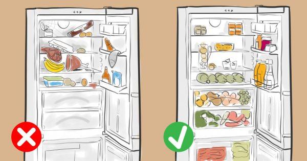 10 способов раз и навсегда навести порядок в холодильнике: всё по полочкам