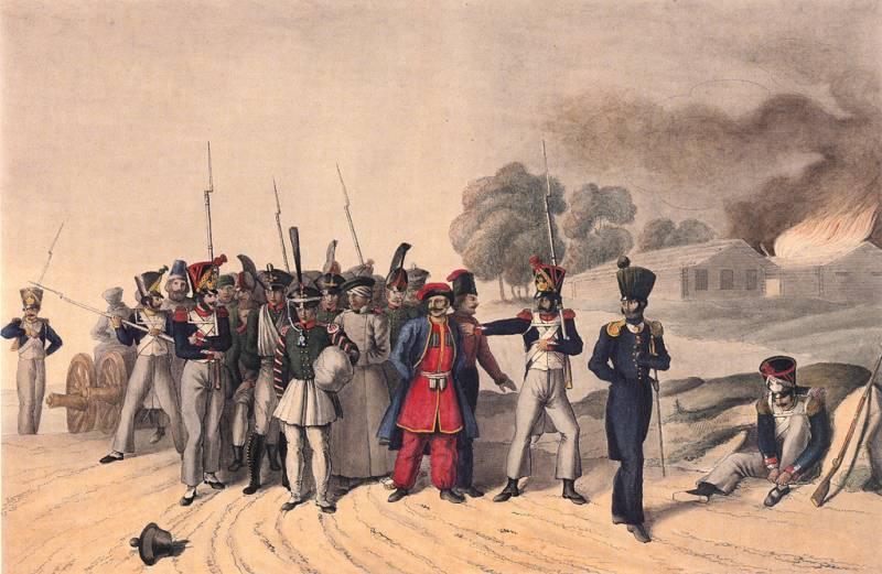 О судьбе русских военнопленных в 1812 году