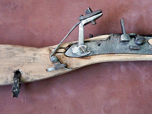 Зырянская винтовка - стрелять нужно с упора