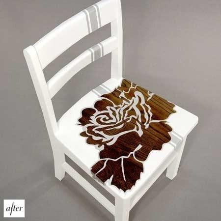 Переделка старых стульев