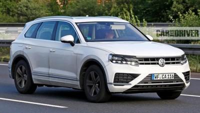 Новый Volkswagen Touareg покажут весной на выставке в Китае