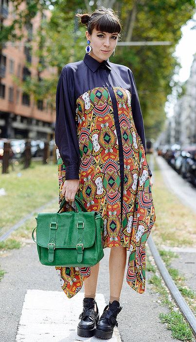 25 вариантов с платьем-рубашкой