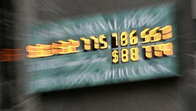 Госдолг США впервые в истории превысил двадцать триллионов долларов