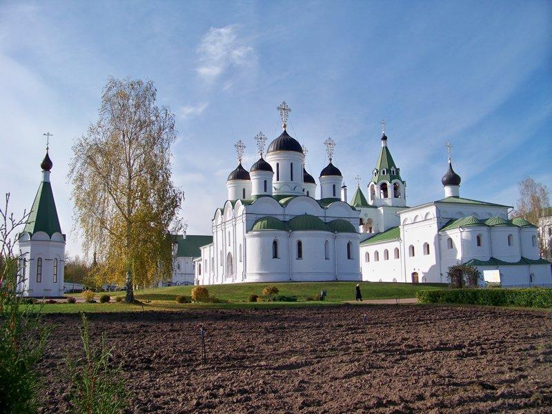 Спасо-Преображенский монастырь - основан в 11 веке Города России, Илья Муромец, Муром, красивые места, пейзажи, путешествия, россия