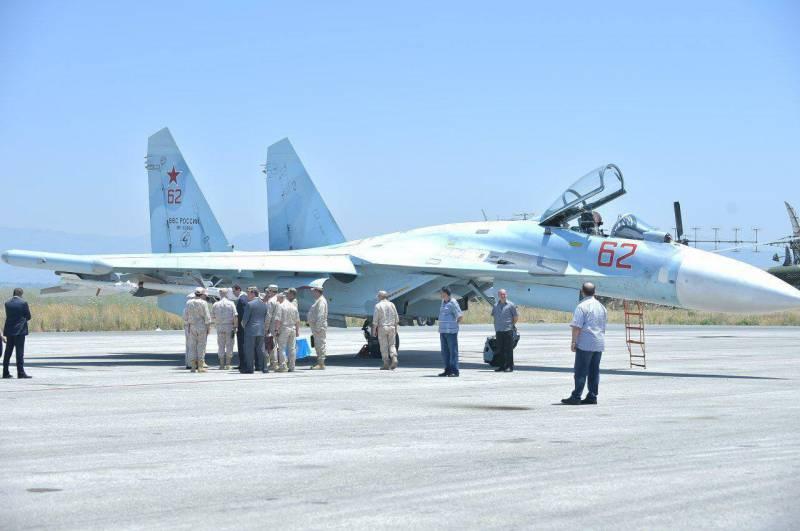Су-27СМ3 замечен в Сирии