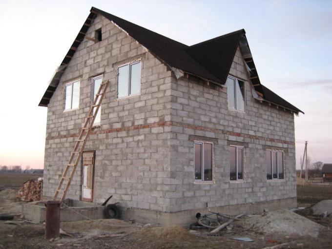 Строительства дома из пеноблока своими руками
