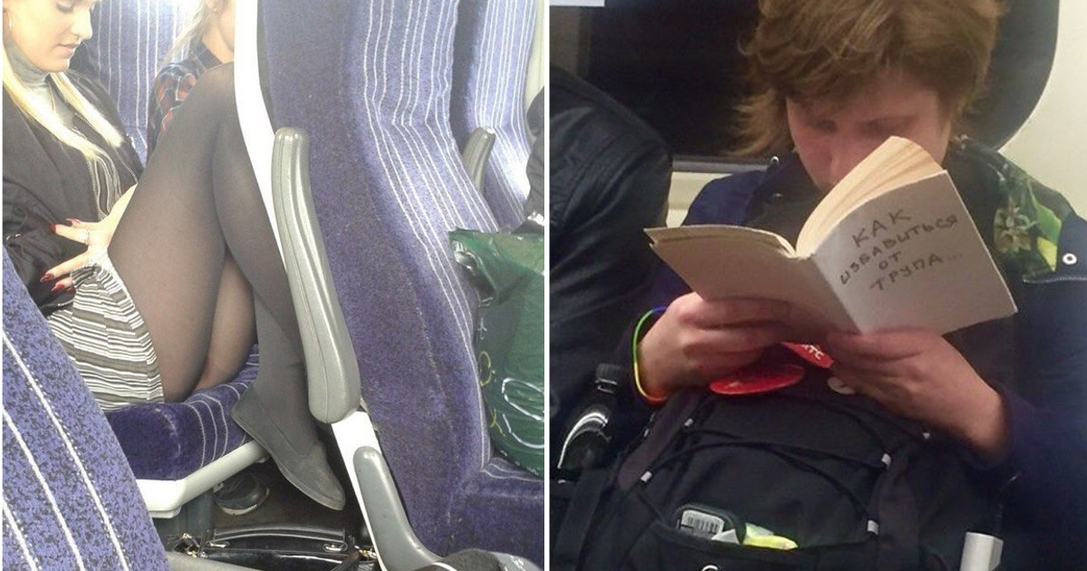 Вот почему я обожаю поездки в общественном транспорте (20 фото)