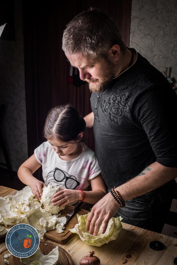 Голубцы наоборот. Из Одессы с морковью, Кулинария, Еда, Рецепт, Длиннопост, Фотография