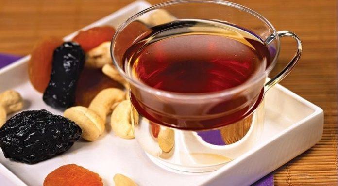 Чай с черносливом для кишечника