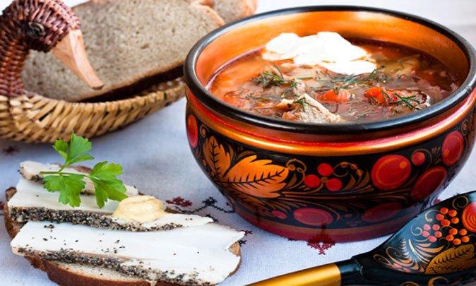 Старинные кулинарные рецепты... Первые блюда