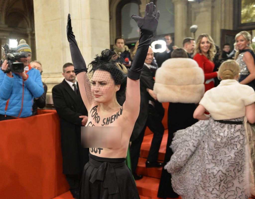Визит Порошенко в Вену ознаменовался громким скандалом