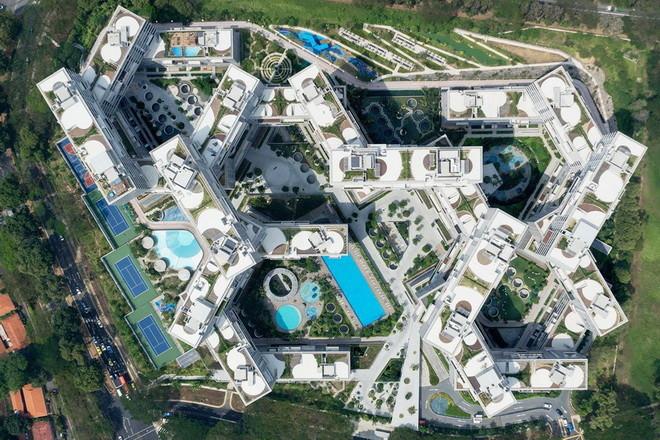 Уникальный жилой комплекс Interlace в Сингапуре   Мир путешествий