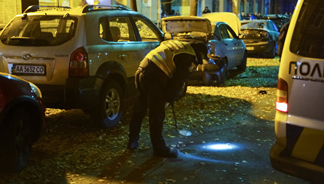 Стали известны три предположительные версии взрыва в Киеве