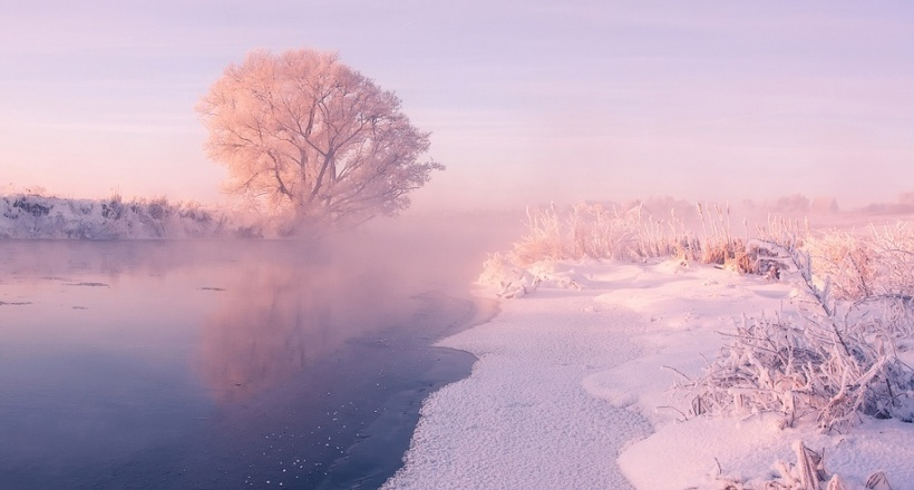 11 волшебных фотографий зимы от белорусского фотографа
