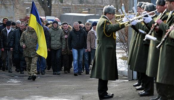 НаУкраине решено значительно увеличить количество призывников вармию