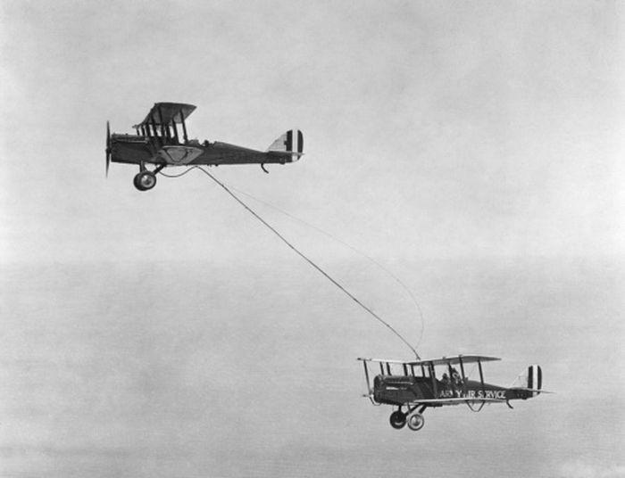 Первая дозаправка в воздухе, 27 июня 1923 года, США было, история, фото