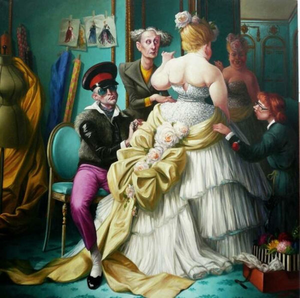 Французский художник высмеивающий людские пороки. Тьерри Брует
