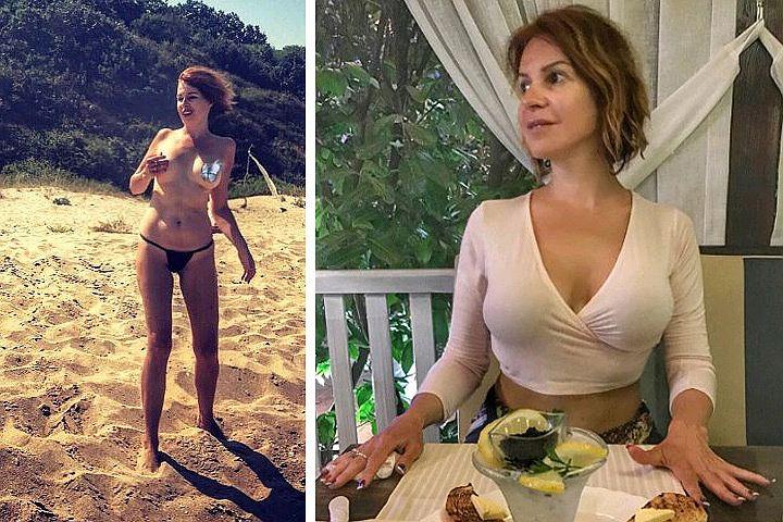 Наталья Штурм объяснила, зачем показала грудь