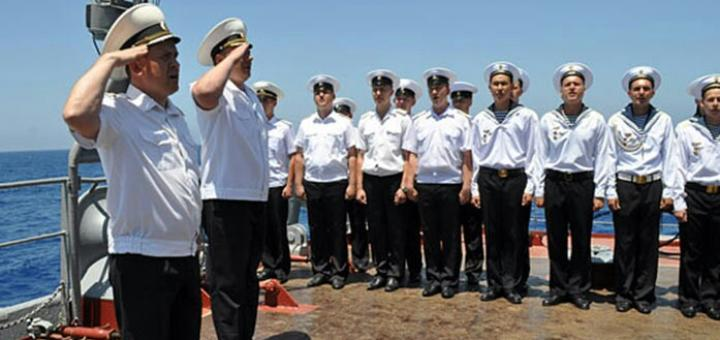 Военно-морской… язык
