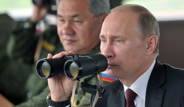 Владимир Путин ставит шах и …