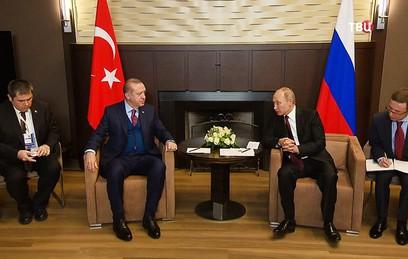 Путин заявил Эрдогану о практически полном восстановлении отношений