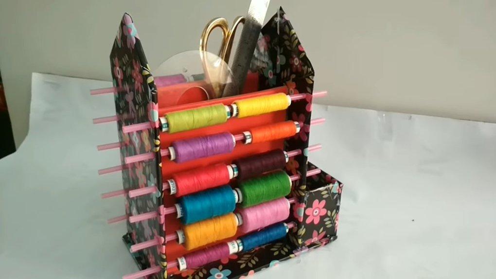 Рукодельницы оценят: удобный органайзер для шитья