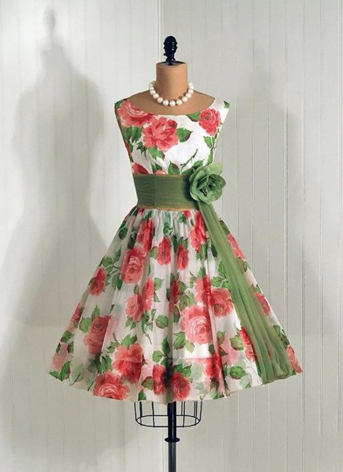 платья в стиле ретро стиляги