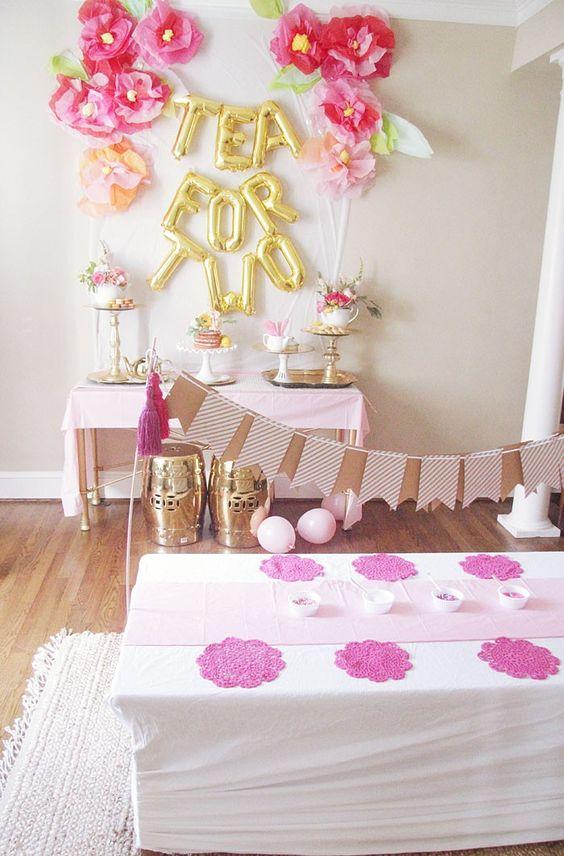 Как украсить комнату для дня рождения девочки  707