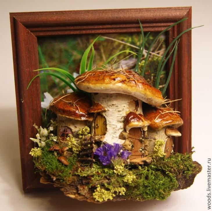 Поделки из грибов