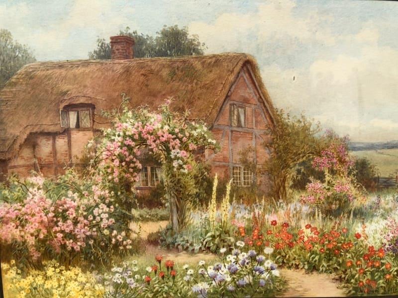 Художник William Affleck (Виллиам Аффлек) 1869-1909 Англия.