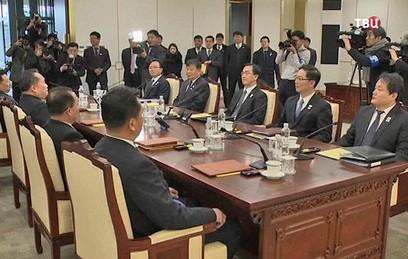 КНДР и Южная Корея начали первые с 2015 года переговоры