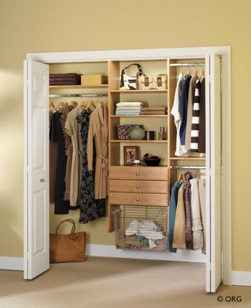 Шкаф купе для хранения одежды 120