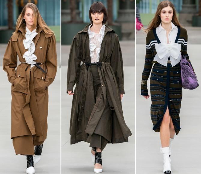 плащи и пальто для женщин - мода на 2020 год от Шанель