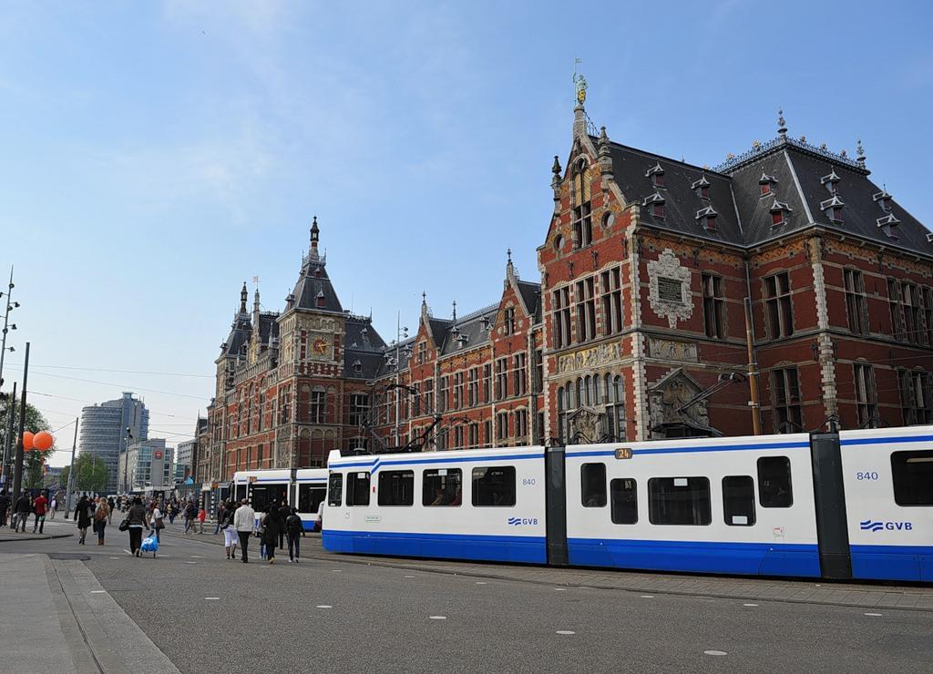 Амстердам - город каналов, сексшопов и кофешопов