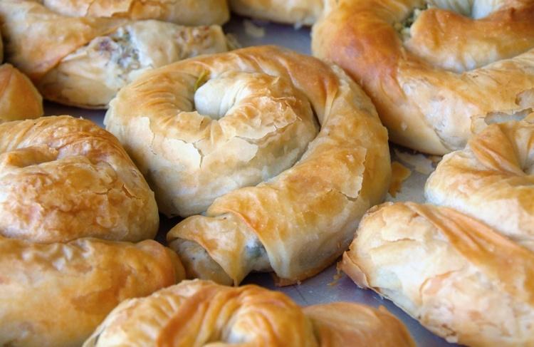 Быстрые турецкие пирожки из лаваша