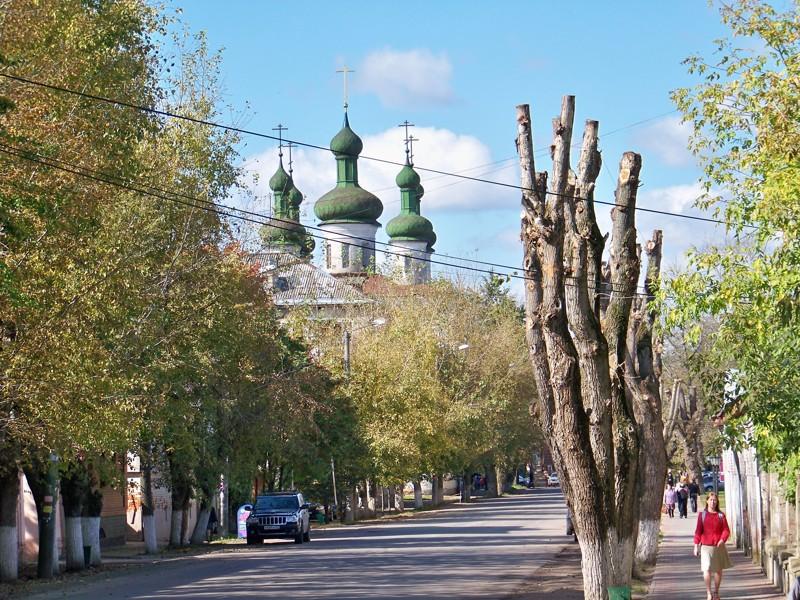 Ул Советская Города России, ивановская область, кинешма, красивые места, пейзажи, путешествия, россия
